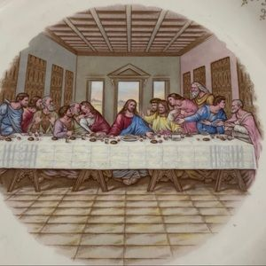 Vintage Gold The Last Supper 22 KT